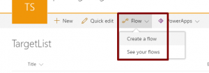 SharePoint Online - Flow