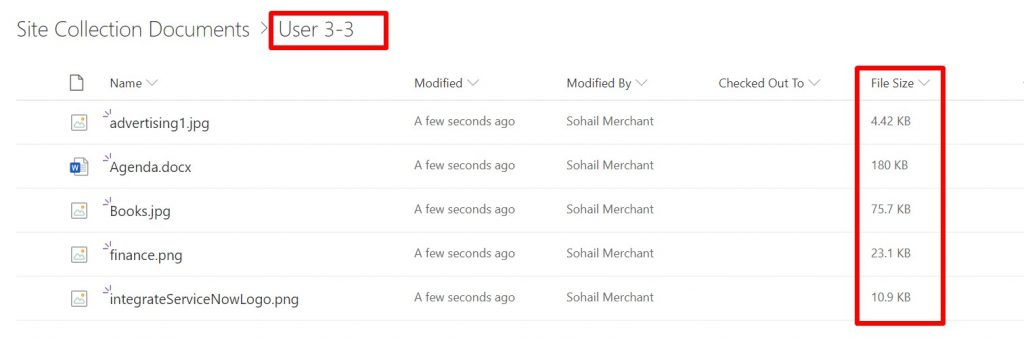 Copy SharePoint list attachments to a document library using